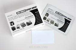 """25 Dymo Compatible 60622 Cleaning Cards, 2.1"""" x 3.5"""" Works F"""