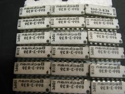 Beckman 899-3-R39 14 PIN DIP 39 Ohm - lot of 2 useful for AI