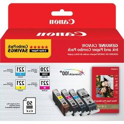CANON PG-220/CL-221 WITH PHOTO PAPER 50 SHEET - FOR MP980, M