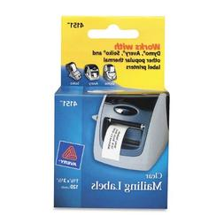 Avery Clear Multi-Purpose Labels for Label Printers, 1.12 x