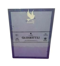 Great Papers! Peace Dove With Stars Letterhead 100 Printer P
