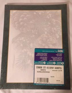 Great Papers! Pine Cones Winter Holiday Letterhead 100 Print