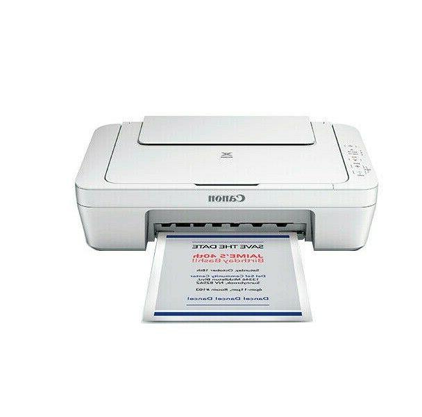 NEW Canon MG2522 Wired All-in-One Color Inkjet Printer with