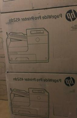 HP PageWide Pro 452dn Color Business Printer, 2-sided duplex