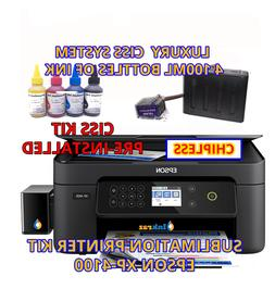 Sublimation Epson XP-4100 xp4105 ChipLess Mianboard Built-on